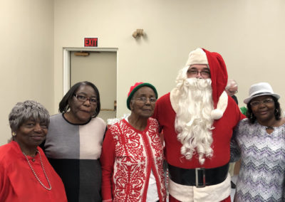Pitt County Council on Aging Senior Holiday Party